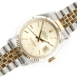 Rolex Oyster Perpetual Datejust Tapestry 16013 (1986)