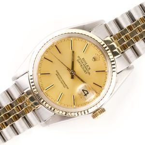 Rolex Oyster Perpetual Datejust Champagne 16013 (1987)