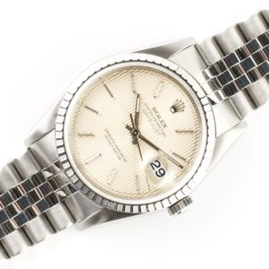 Rolex Oyster Perpetual Datejust Tapestry 16220 (1991)