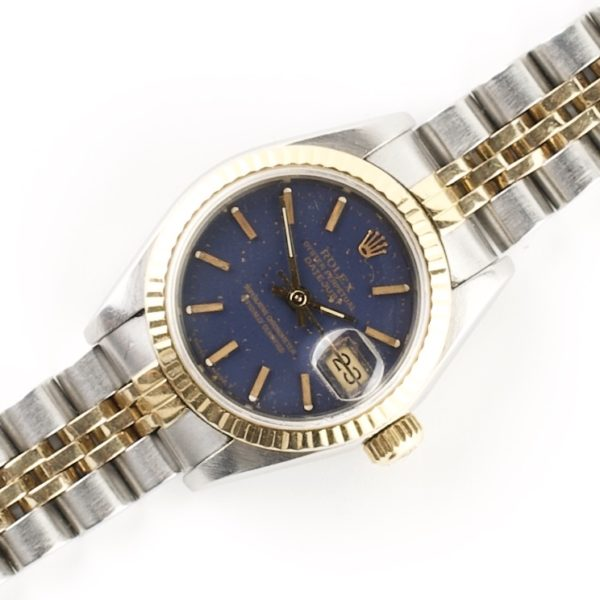 Rolex Lady-Datejust 69173 (1993) Blue Dial