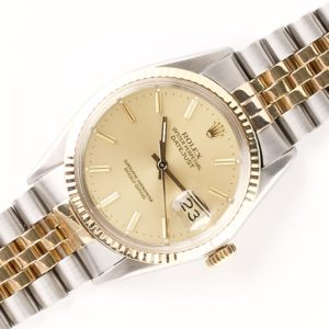 Rolex Oyster Perpetual Datejust Champagne 16013 (1980)
