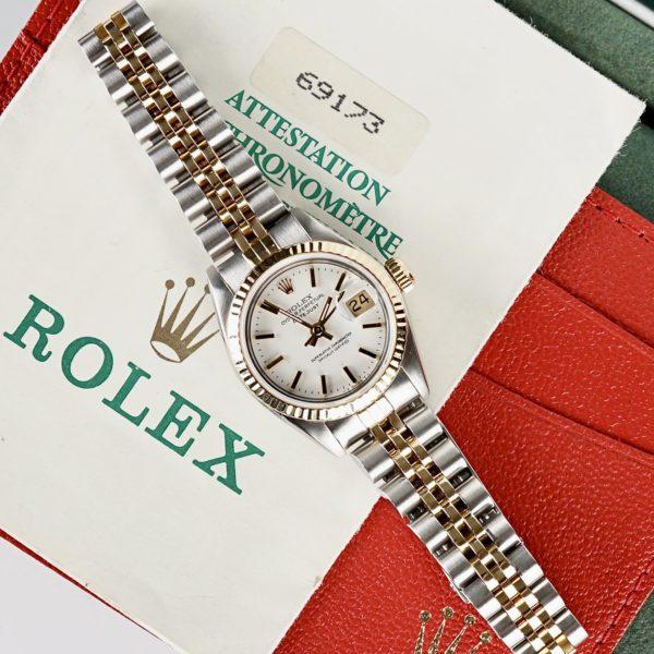 Rolex Lady-Datejust 69173 (1989) Full Set