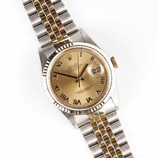 Rolex Oyster Perpetual Datejust Roman 16233 (2000)