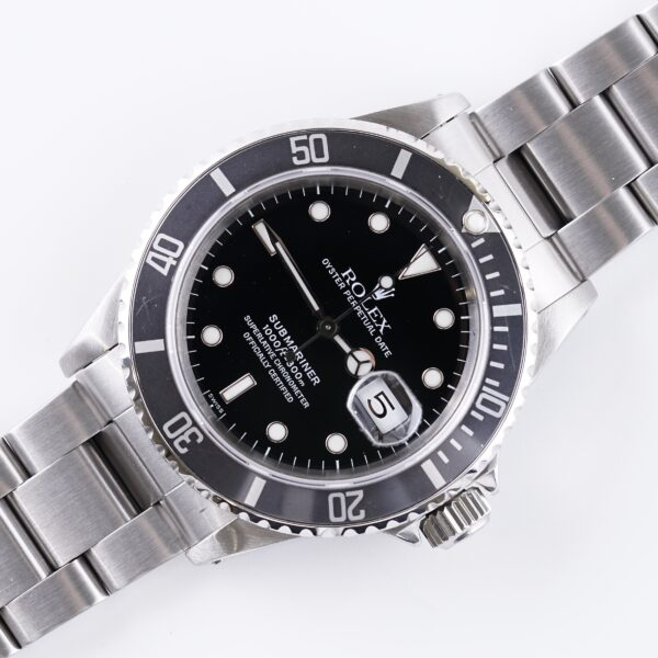 "Rolex Submariner Date ""Swiss"" 16610 (1997)"