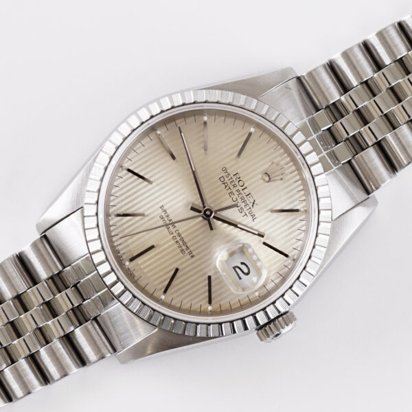 Rolex Oyster Perpetual Datejust 16220 (1990) Full Set