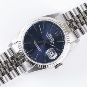Rolex Oyster Perpetual Datejust Blue 16234 1999 (Full Set)