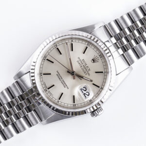 Rolex Oyster Perpetual Datejust Silver 16234 1995