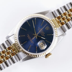 Rolex Oyster Perpetual Datejust Blue 16233 1989 (Full Set)
