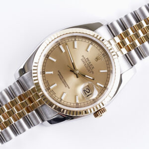 Rolex Oyster Perpetual Datejust Champagne 116233 2004 (Full Set)