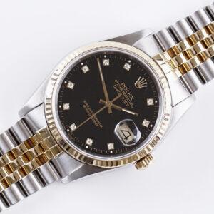 rolex-oyster-perpetual-datejust-black-diamonds-16233-1988-full-set