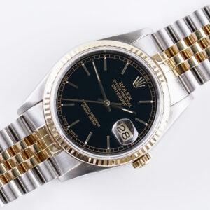 rolex-oyster-perpetual-datejust-black-16233-1988-full-set