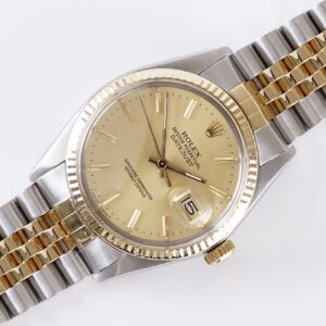 Rolex Oyster Perpetual Datejust Champagne 16013 1986 (Full Set)