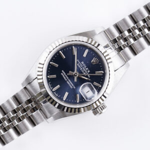 Rolex Oyster Perpetual Lady-Datejust Blue 69174 1990 (Full Set)