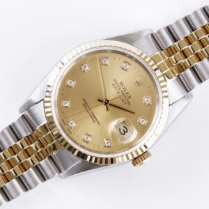 rolex-oyster-perpetual-datejust-champagne-diamond-16233-1997-full-set