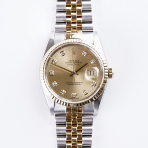rolex-oyster-perpetual-datejust-champagne-diamond-16233-1995-full-set