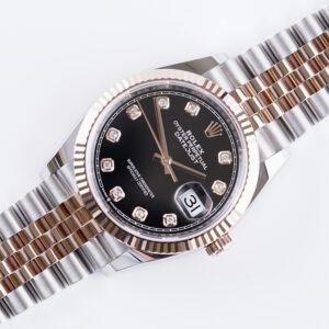 rolex-oyster-perpetual-datejust-black-diamond-126231-2021-full-set