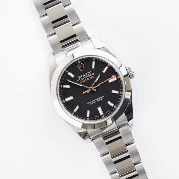 rolex-oyster-perpetual-milgauss-black-116400-2009-full-set