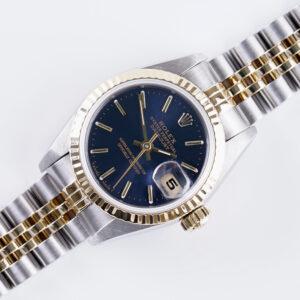 rolex-lady-datejust-blue-69173-1991-full-set